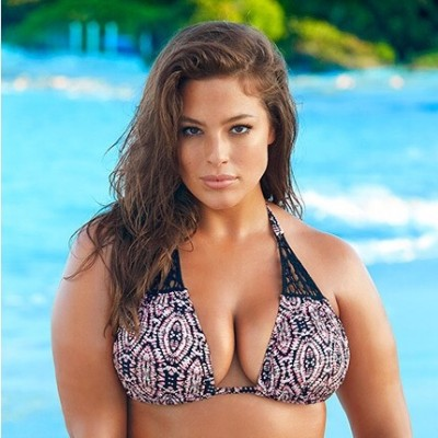 Ashley Graham Snapchat Photo