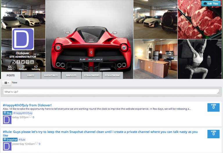 #WebsiteHelp: How to set cover photos on your profile?