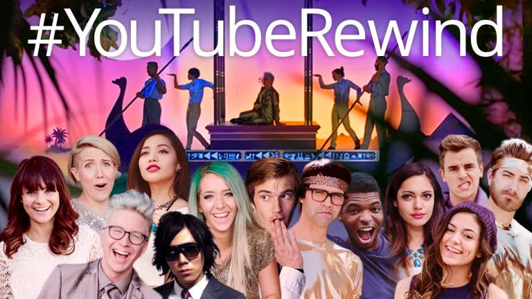 YouTube Rewind: Turn Down for 2014 (compilation of popular Youtube clips on 2014)
