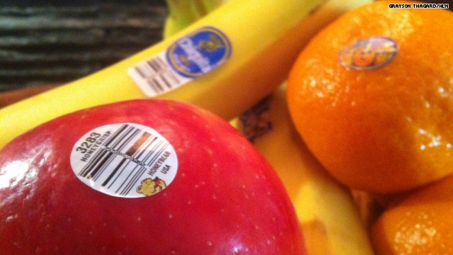 #DidYouKnow: Fruit Stickers Are Edible!