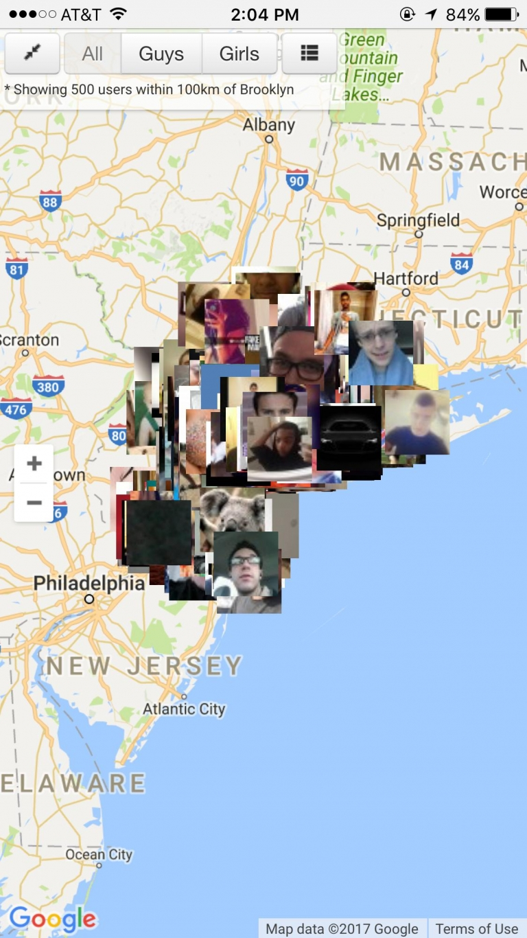 how to find people on snapchat map