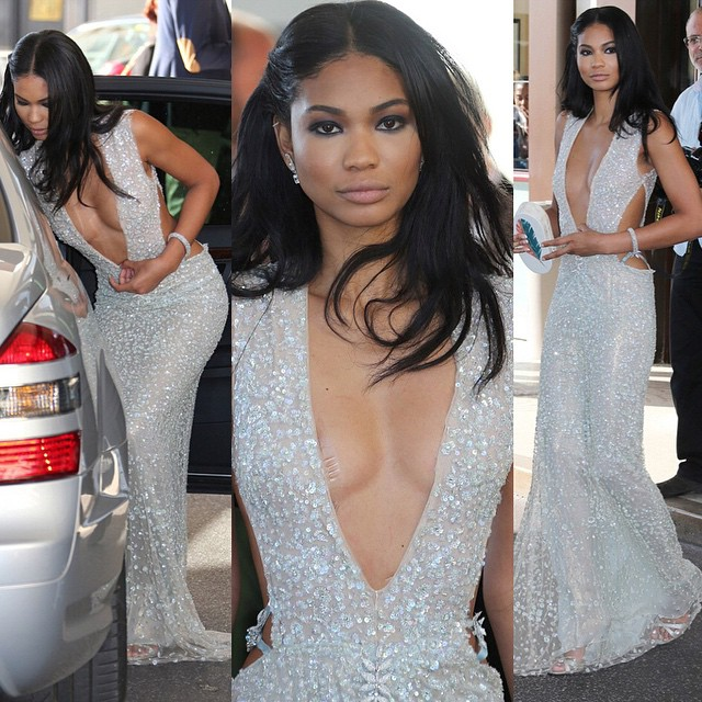 Chanel Iman on Instagram @chaneliman