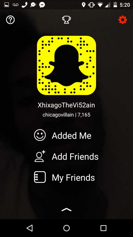 Add me on SnapChat @ChicagoVillain