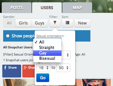 #LGBT: How To Find Gay Users On Snapchat