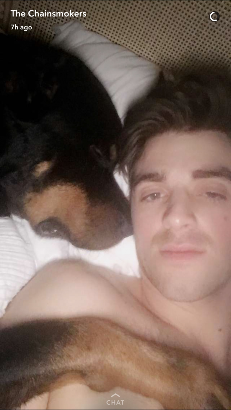 Andrew Taggart caught sleeping with someone... #TheChainsmokers