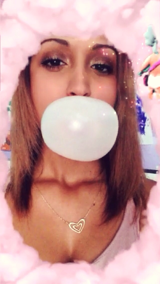 My 1 & only talent- blowing big bubbles lol