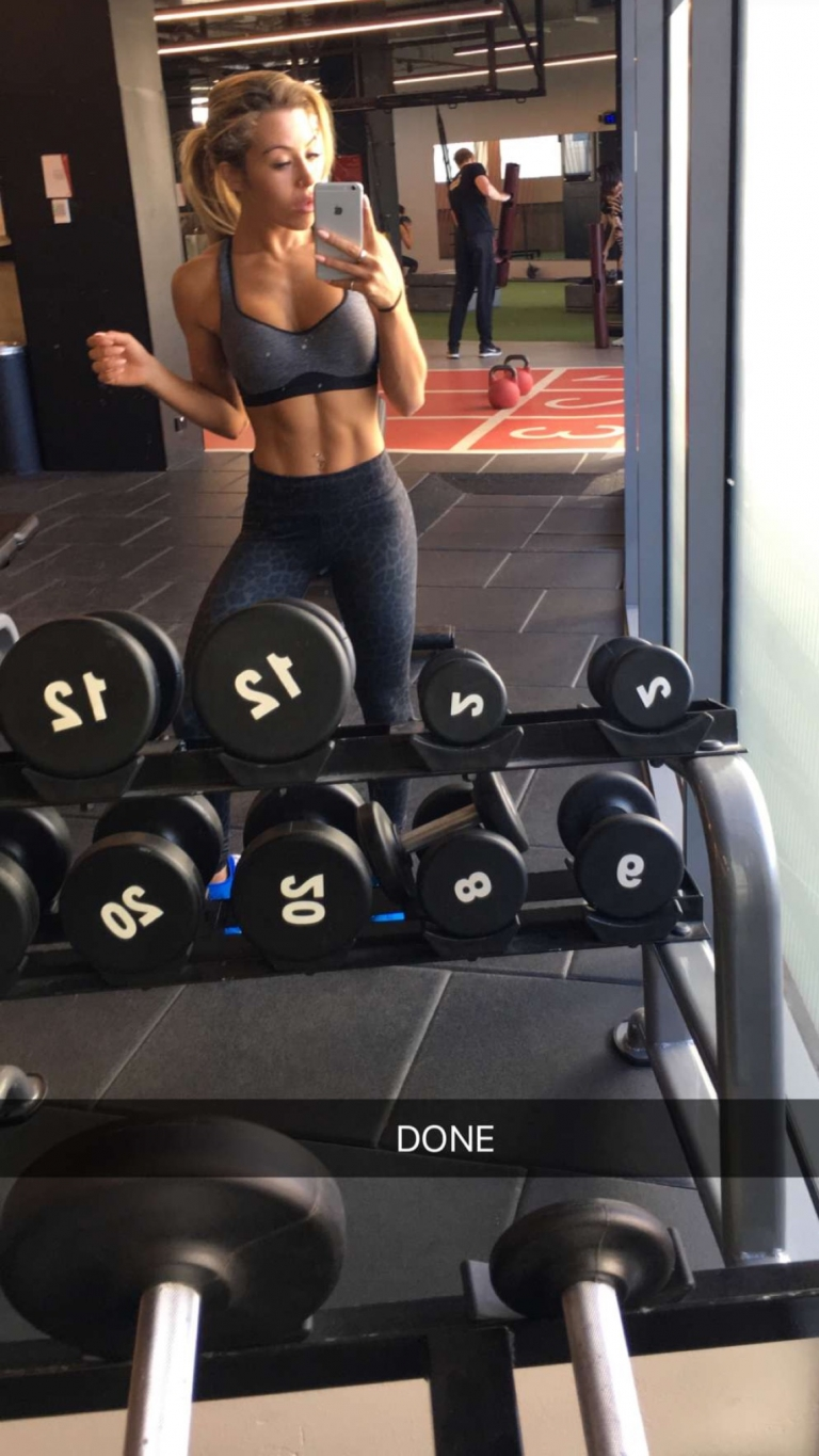 For more Snapchat #Fitness follow @kaliburns