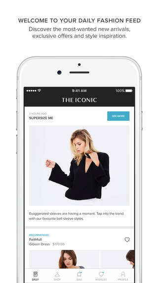 THE ICONIC – Fashion Shopping on the App Store
