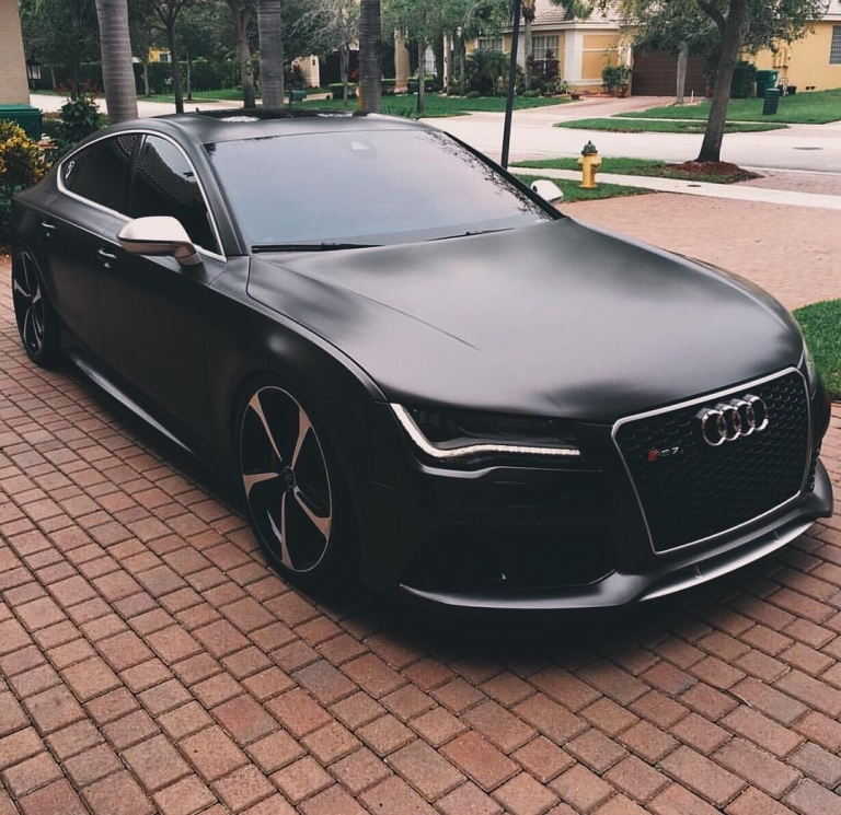 ✖️Stealthy RS7. What do you think? [ Owner @rs_svn ] #carlifestyle