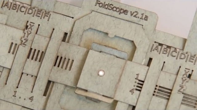 Cheap Paper #Microscope Called #Foldscope Could Save Millions of Lives