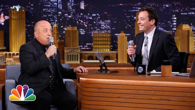 #TheTonightShow: Billy Joel and Jimmy Fallon Form 2-Man Doo-Wop Group Using #iPad App