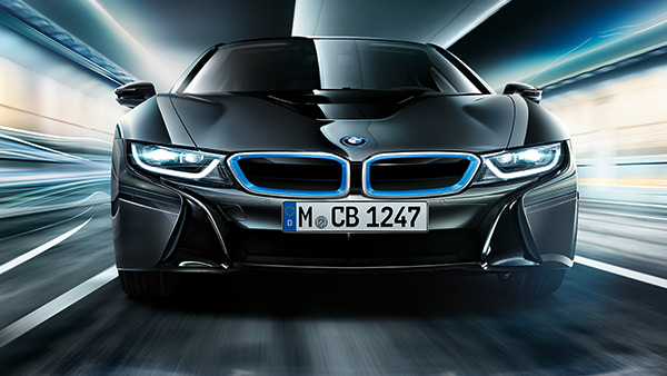 The new #BMW #i8 laser headlights