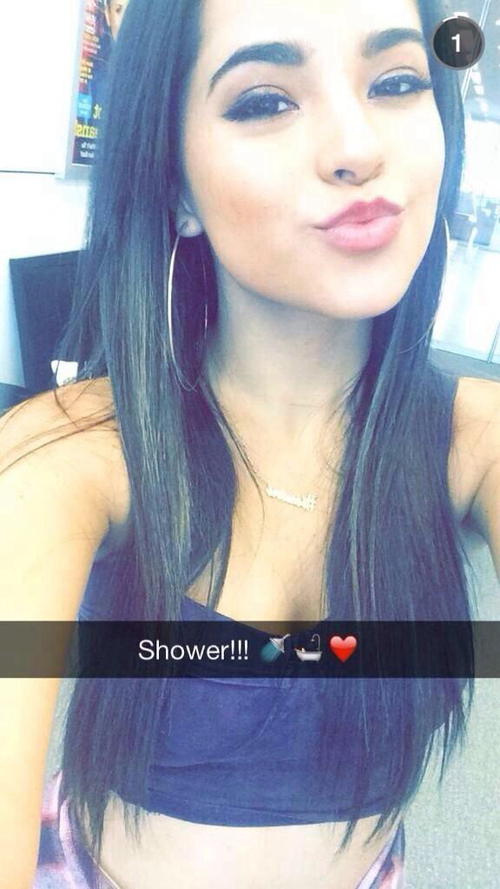 Becky G Snapchat Username @BeckyGofficial #musician