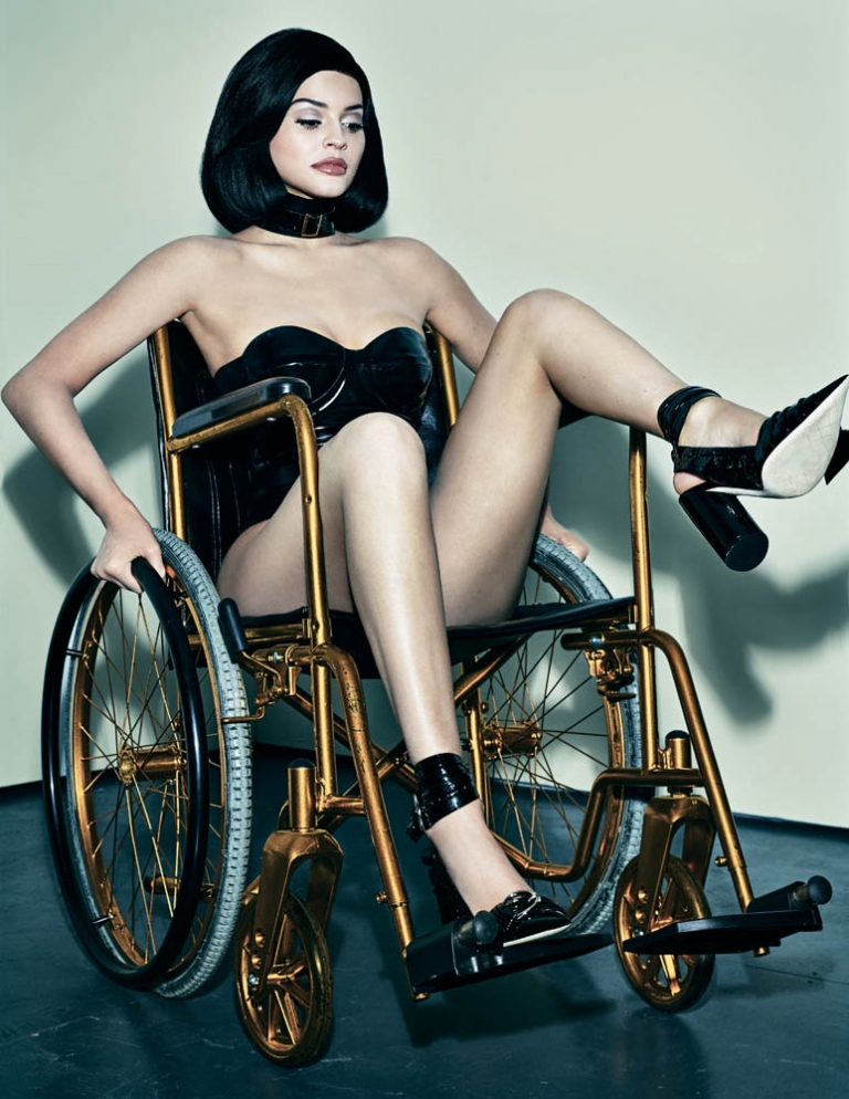 Kylie Jenner Slammed For This Wheelchair Photoshoot