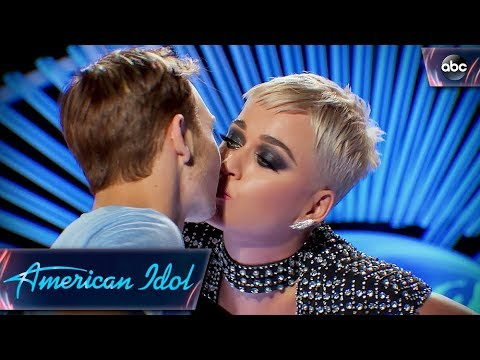 Benjamin Glaze Audition for #AmericanIdol2018 Includes a First Kiss From Katy Perry