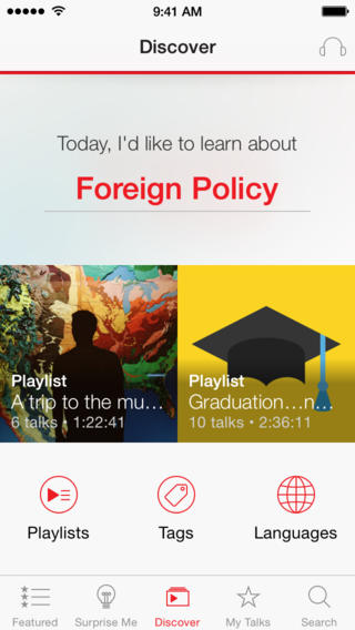 #Education: TED iPhone App