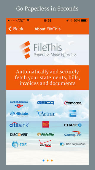 #Finance: FileThis - Your Bills, Bank Statements and Tax Files Organized