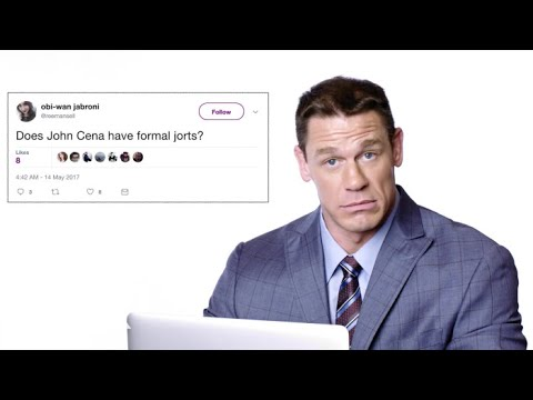 John Cena Goes Undercover on Twitter, YouTube, and Reddit and Wrote His Comment to Posts