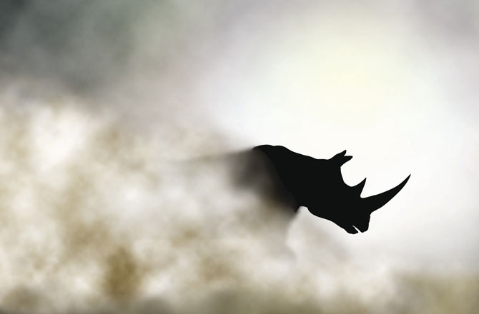 3D-Printed Synthetic Rhino Horns Could Save Rhinos