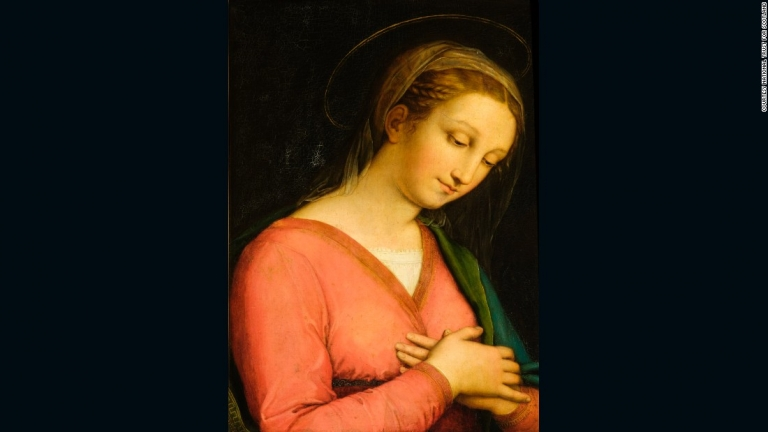 Painting bought for $25 could be $26m Raphael