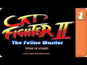 Street Fighter Parody - Cat Fighter | #Funny_cats #gaming