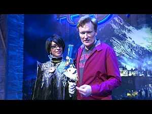 #Conan Visits E3 To Check Out #PS4 & #XBox_One | #funny #gaming
