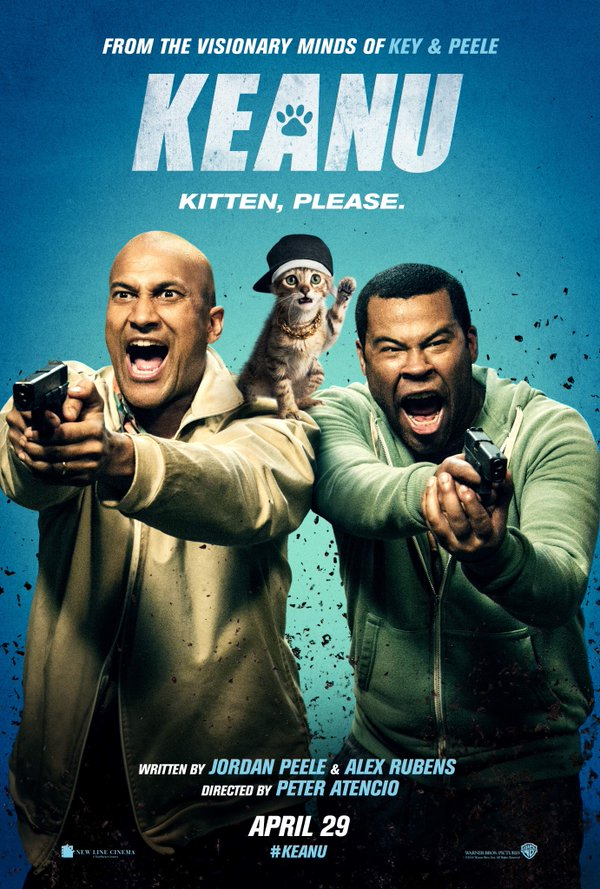 #Keanu movie #poster starring Key and Peele