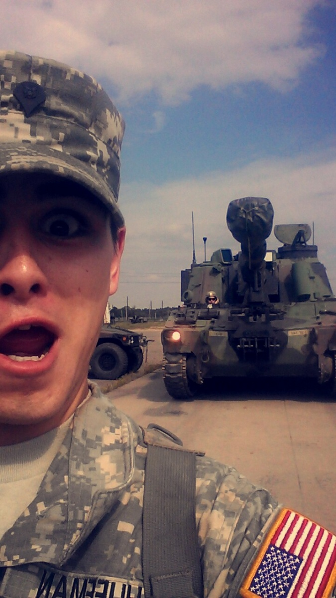 What a day! #crazy#armylife#13B