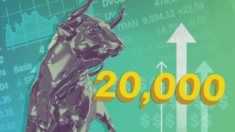 Boom: #Dow hits 20,000 for first time ever