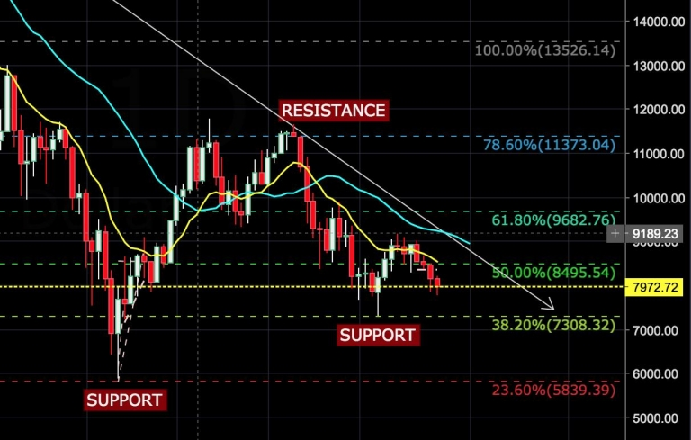How To Plot #Bitcoin Support and Resistance Levels Using Technical Analysis? A Dip Buying Guide...
