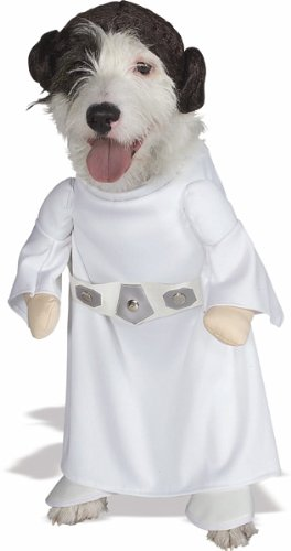 This will be my dogs #halloween costume! Star Wars Princess Leia!