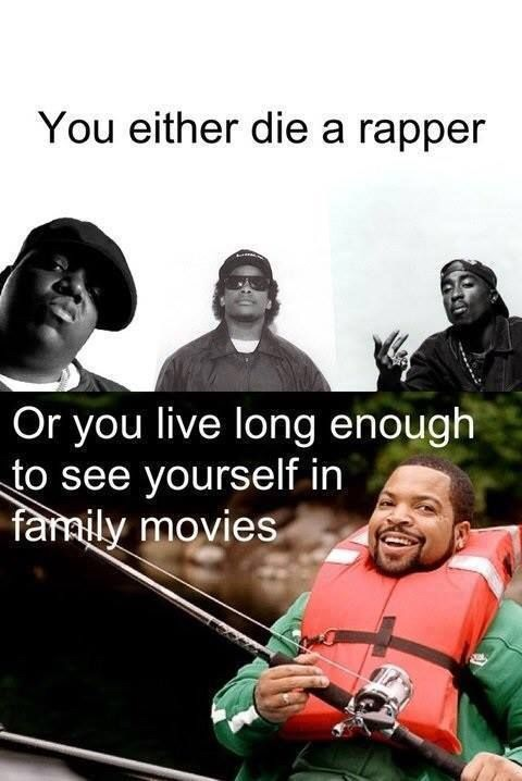 Would you rather die a rapper?