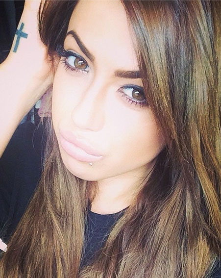 Geordie Shore's Holly Hagan Snapchat Username @HollyHagan1