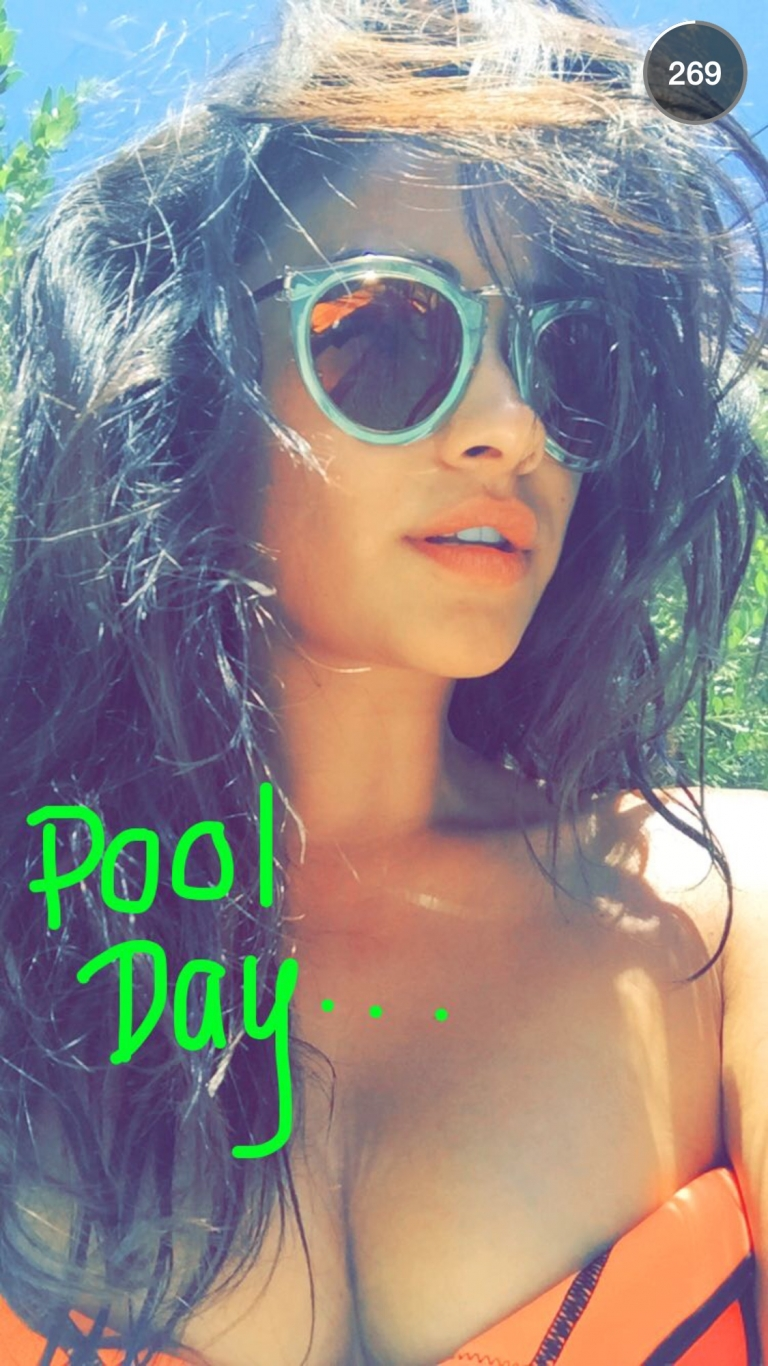 Shay Mitchell snapchat is a reality show #officialshaym