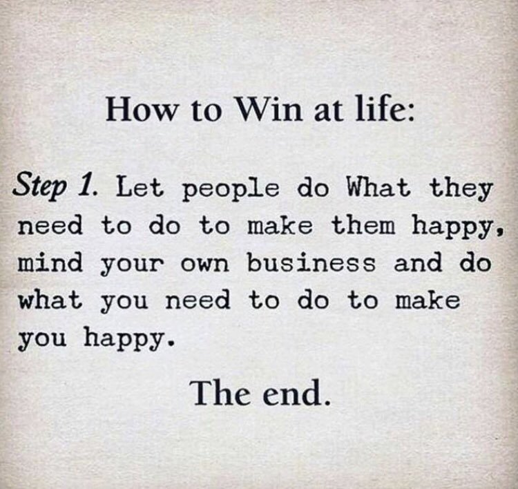 #WednesdayWisdom: How To Win at Life?