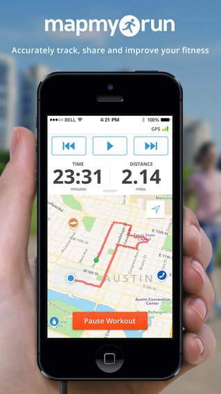 Map My Run - GPS Running and Workout Tracking with Calorie Counting