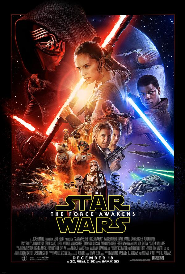 Star Wars: The Force Awakens #Poster