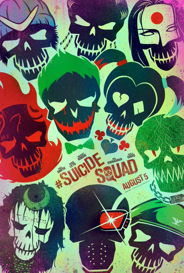 New Suicide Squad Poster