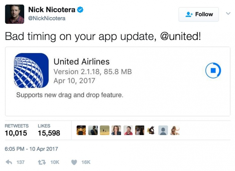 how to change flight on united app