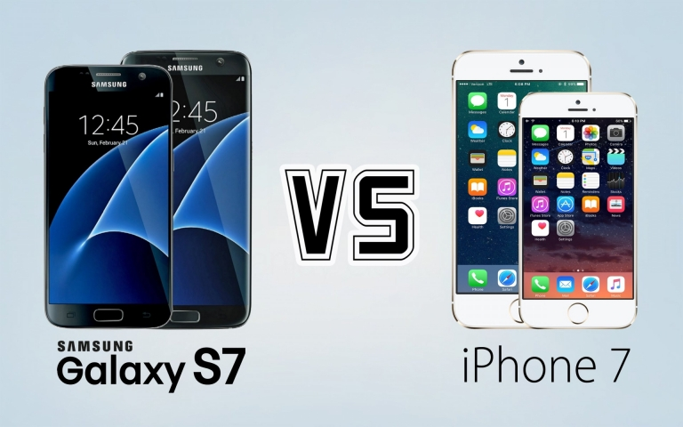 #Smartphone: Which one would you buy? #GalaxyS7 or #iPhone7?