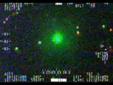 Watch This Guy Gets Nabbed After Pointing Laser To A Police Helicopter!