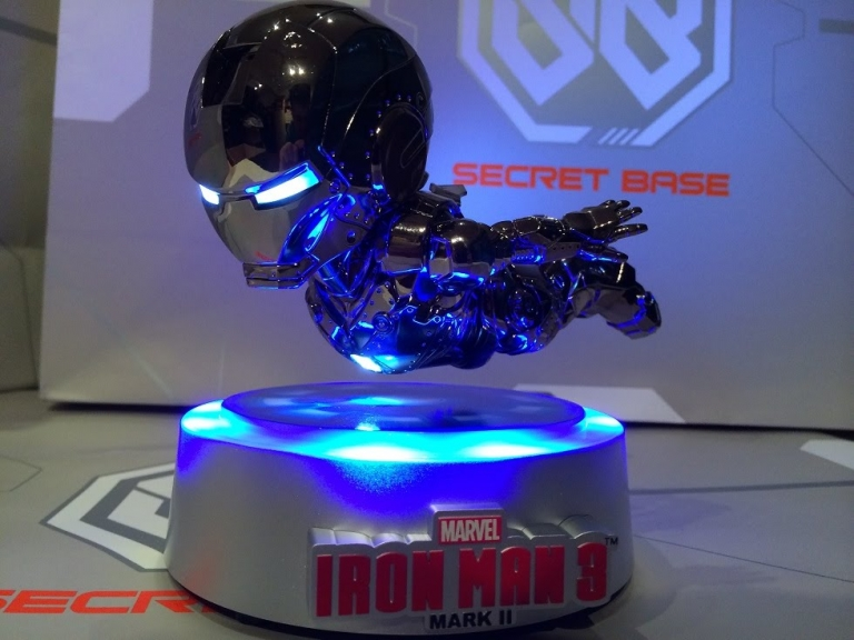 #CoolToys: Kids Logic MK2 Magnetic Floating Iron Man