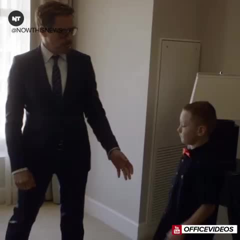 Robert Downey Jr. partnered with Albert Manero and his company Limbitless to provide a 3D printed bionic arm to this boy for free