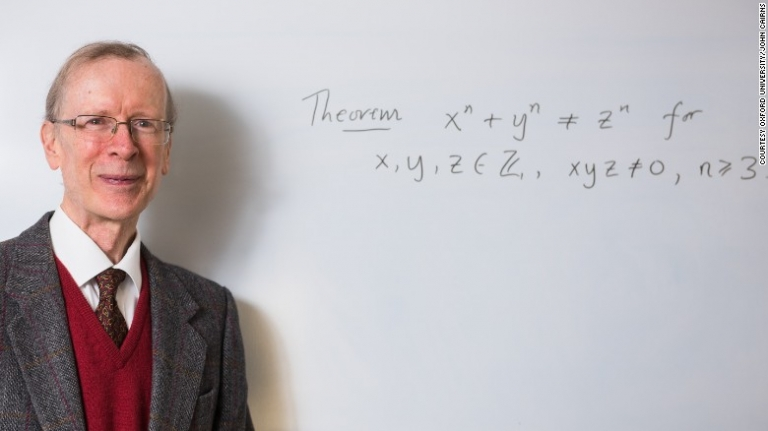"Sir Andrew Wiles wins $700k for solving 300-year-old math problem knows as ""Fermat's Last Theorem"""