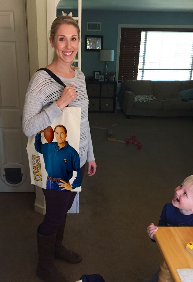 I'm not sure if my wife is happy for the Coach bag I gave her for her birthday...