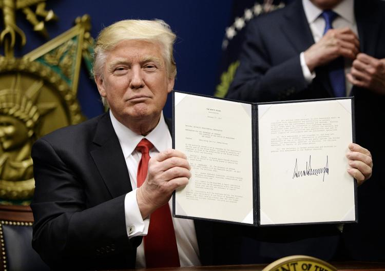 Trump's Muslim ban excludes countries linked to his businesses