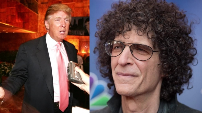 Howard Stern: Trump run for President solely to get larger contract from NBC for 'The Apprentice'