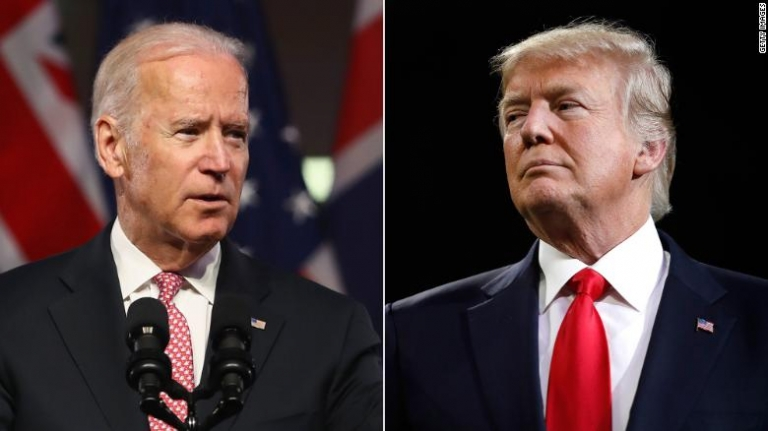 President Trump and Joe Biden Threatens to Beat up Each Other