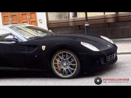#Cars: The Famous Fuzzy Ferrari 599 in London