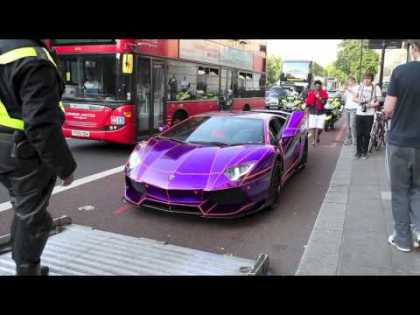 #Cars: Lamborghini Aventador seized by police in London, wealthy arab owner did not have insurance